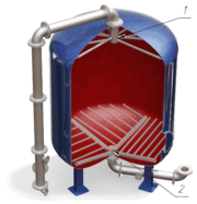 Дренажные системы (ДРУ) щелевого типа для фильтров ФИПа,  ФОВ,  ФСУ,  кол